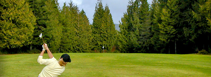 golf course holiday BC